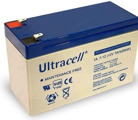 Ultracell zselés akkumulátor