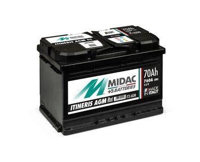 Midac EFB Start&Stop 80Ah