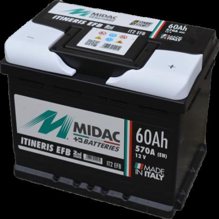 Midac EFB Start&Stop 60Ah