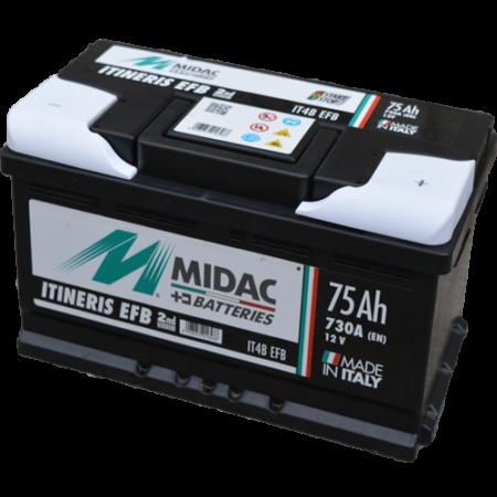 Midac EFB Start&Stop 75Ah